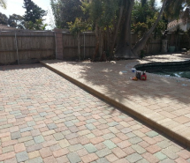 Raised pool Deck