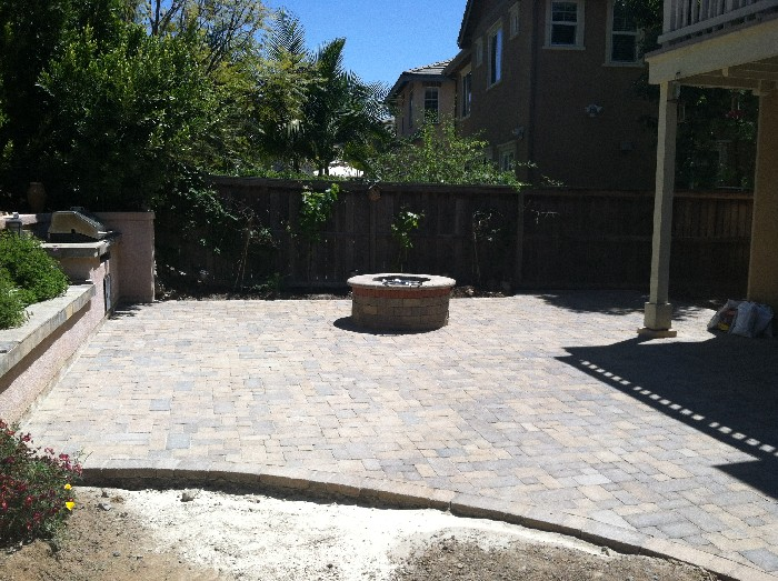 San Diego Firepits Accurate Grading Paving