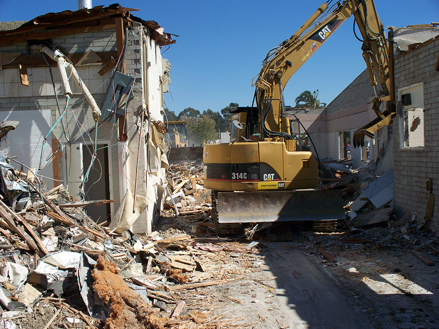 Do you have a building that is too dilapidated to renovate?