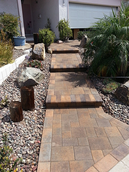 Patio Walkway Accurate Grading Amp Paving San Diego