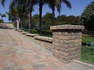 Capri Retaining Wall